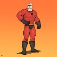 Mr.Incredible by Ross-Vlixes