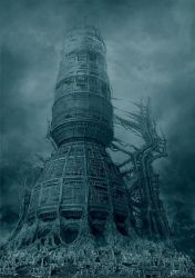 Ancient spaceship by Tomstrzal