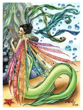 Sea witch mermaid by snuapril01