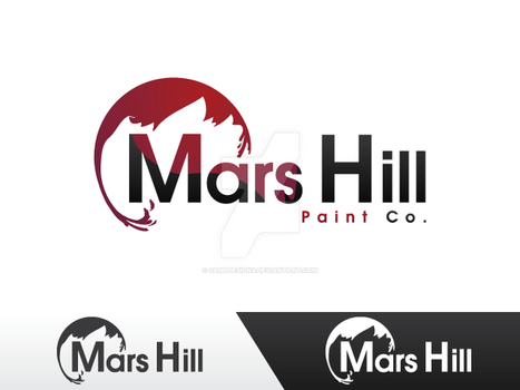 Mars Hill Paint .Co logo by sampdesigns