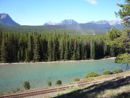 Bow River 2 by raindroppe