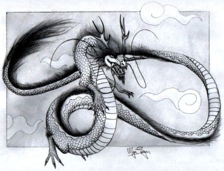 Classical Chinese Dragon by FlamSlade