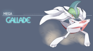 Mega Gallade - The blade master by nganlamsong