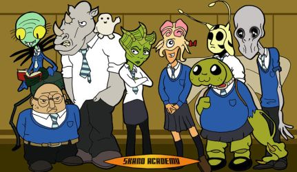 Skaro Academy (Doctor Who) by The-Hellish-Gnome