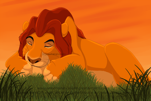 The Lion sleeps tonight by MaxPaineVolumn