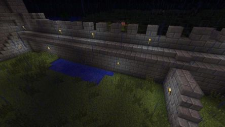 Helm's Deep 3, Deeping Wall by ShadowpwnLord9999