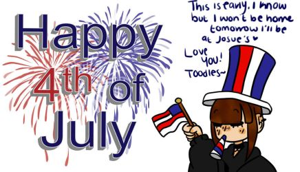 Early 4th of July - Have a good one! by Scribbles001