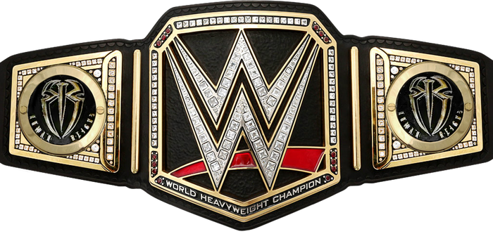 Roman Reigns WWE World Championship Sideplates by Nibble-T