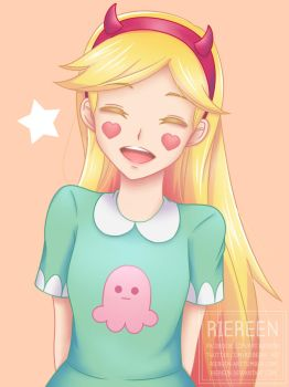 Star Butterfly by Riereen