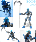 Bionicle: Toa Gali by Transypoo