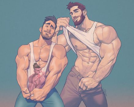 Hunks of the week #48 by silverjow