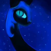Nightmare Moon by matrioshkka
