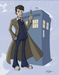 The 10th Doctor by Dominic-Marco