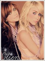 Olsen Twins by colorfullworld