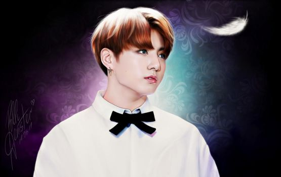 Air / Jungkook BTS by pollidenister