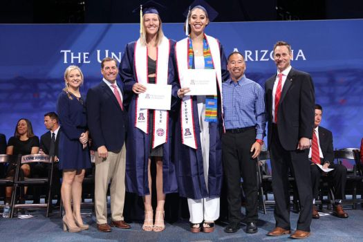 Tall Volleyball players Graduation by lowerrider
