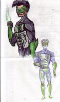 kyle rayner doodle by megamike75