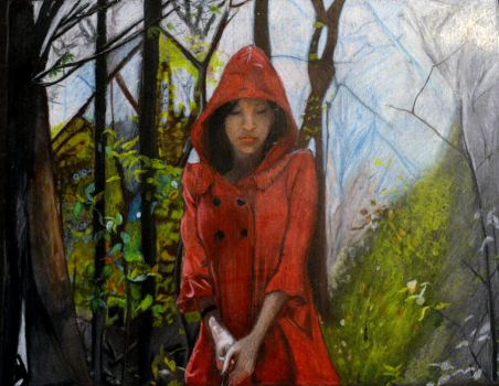 Little Red Riding Hood by Lavindyer