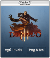 Diablo III - Monk Icon by Crussong