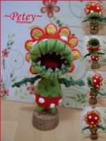 Petey Piranha Amigurumi by flash-mausal