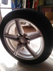 Mercedes-Benz C Class W204 tyre by Amgnismo