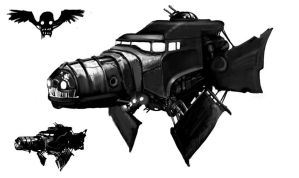 The Big Black ship Concept by KruddMan