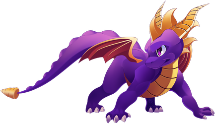 spyro the dragon 2018 FANART by phation