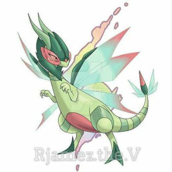 Mega Flygon by rjamez-the-v