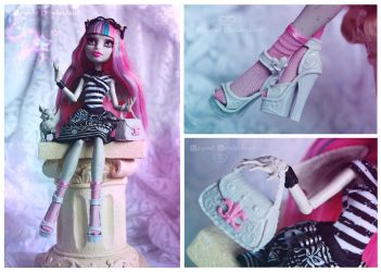 Monster High Rochelle Goyle by MiveeArt