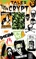 Vector Pack: Candy Corn by Jonny-Doomsday