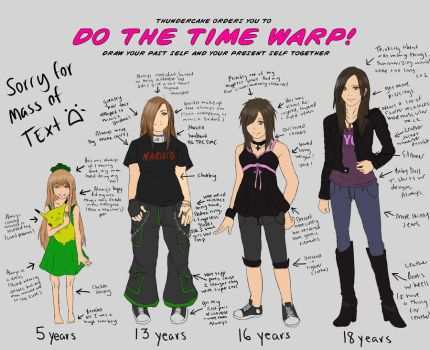 DO THE TIME WARP MEME by HappyxArsonist