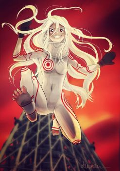 Deadman Wonderland- Shiro Jump by LauBun