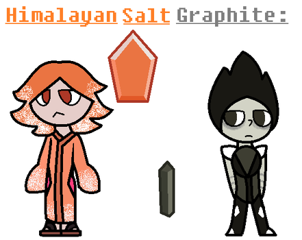 Himalayan Salt and Graphite by TheUltimateMagikarp