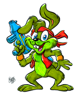 Jazz Jackrabbit by BezerroBizarro