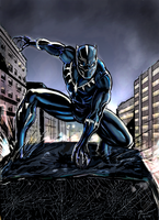 Black Panther by marcel815