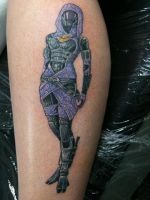 Tali tattoo complete by Jao-lin