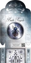 Beetle Royale: Poker Deck Box - Dark Variant by atomantic