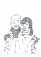 Kids, say hello to your baby sister (uncolored) by XSreiki772