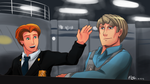 LEGO City Undercover: Chase and Frank by witch-girl-pilar