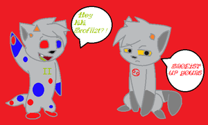 .:AT:. Karkat and Sollux by Letipup