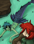 Off the Deep End by Gwen-Fox