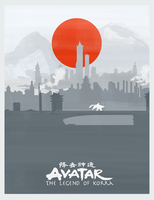 Avatar: The Legend of Korra Poster by lagota
