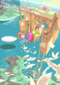 Fantasy Bed II by CaringWong
