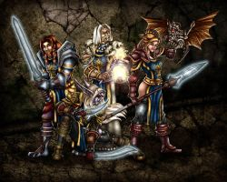 WoW - Voice of the Past gang 1 by freyah