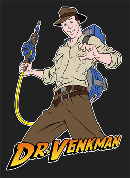Dr. Venkman and the Search for the Gatekeeper by GhostbustersNews