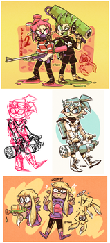 Splatoon by Z-T00N