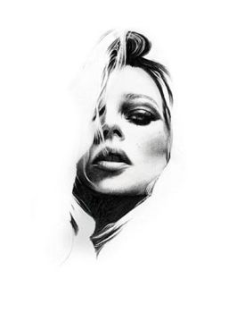 Kate Moss WIP 1 by riefra