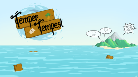 Temper Tempest - Poster by Ehnala