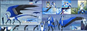 Personal - Glitch Reference Sheet by TwilightSaint
