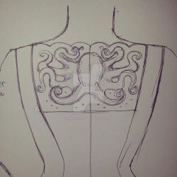 Embroidery design - dress by musical-box
